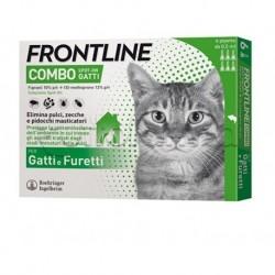 Frontline Combo Antiprassitario per Gatti e Furetti 6 Pipette