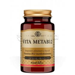 Solgar Vita Meta B12 Integratore Vitamina B12 30 Compresse Orosolubili