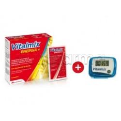 Vitalmix Energia+ Integratore Energizzante 12 Bustine + Contapassi in Omaggio