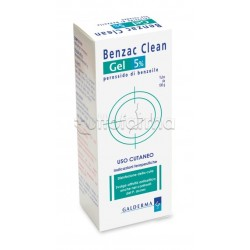 Benzac Clean 5% Gel per Acne 100 gr
