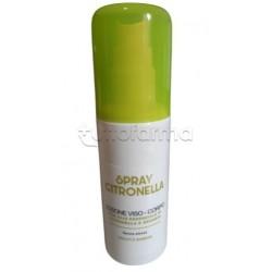 Spray Citronella Antizanzare Viso e Corpo Adulti e Bambini 100ml