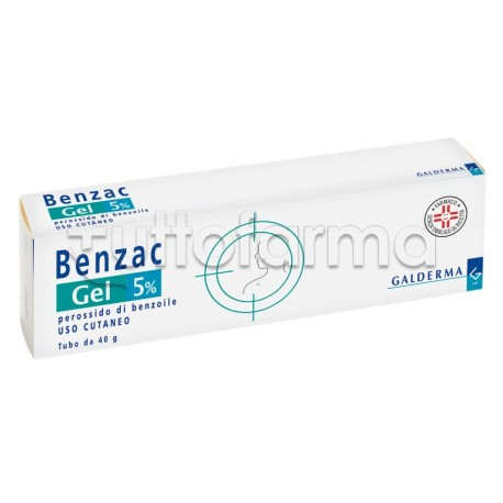 Benzac Gel 5% per Acne 40gr