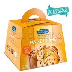 Piaceri Mediterranei Panettone Senza Canditi Senza Glutine 650mg