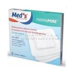 Meds Farma Pore Medicazione Adesiva 10x30cm 3 Pezzi