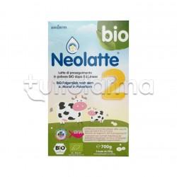 Neolatte Dha 2 Bio Latte di Proseguimento in Polvere dai 6 Mesi 2 Buste da 350g