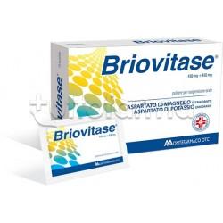 Briovitase 10 Bustine 450 mg + 450 mg Magnesio e Potassio