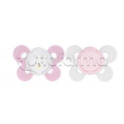 Chicco Physioforma Comfort Ciuccio in Silicone Bimba 6-16 Mesi 2 Pezzi