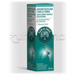 Carlo Erba Ossimetazolina Spray Nasale Decongestionante 15 ml