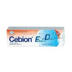 Cebion Febbre e Dolore 20 Compresse Effervescenti
