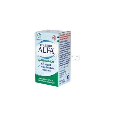 Collirio Alfa Antistaminico 10 ml per Allergia