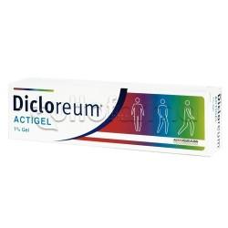 Dicloreum Actigel Antinfiammatorio ed Antidolorifico 1% 100 Gr