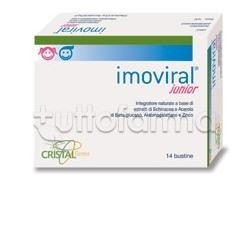 Cristalfarma Imoviral Junior per Difese Immunitarie 14 Bustine