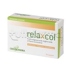 Cristalfarma Relaxcol per Gonfiore e Tensione Addominale 36 Capsule