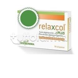 Cristalfarma Relaxcol Plus per Funzionalità Gastrointestinale 30 Compresse