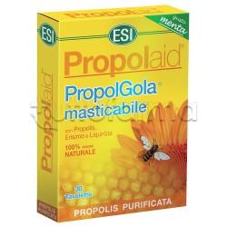 Esi Propolaid Gola 30 Tavolette Masticabili con Propoli Gusto Menta