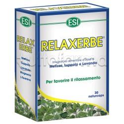 Esi Relaxerbe 30 Capsule Rilassante per Stress e Ansia