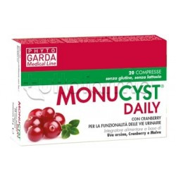Phyto Garda Monucyst Daily Integratore per Vie Urinarie 20 Compresse