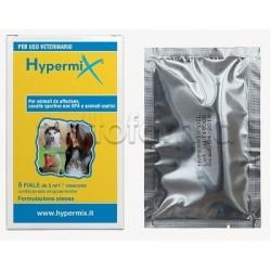 Hypermix Olio Veterinario per per Lesioni Esterne degli Animali 5 Fiale