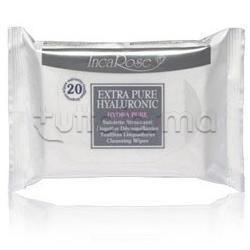 Incarose Extra Pure Hyaluronic Salviette Struccanti 20 Salviette