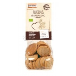 Fior Di Loto Biscotti Cuoricini Di Grano Saraceno Senza Glutine Dolciume Biologico 250g