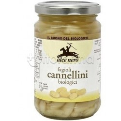 Alce Nero Fagioli Lessati Bio Cannellini 300g