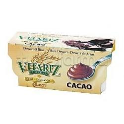Fior Di Loto Budino Di Latte Con Cacao Snack Biologico 4x100g