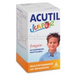 ACUTIL MULTIVITAMINICO JUNIOR FRAGOLA 40 COMPRESSE