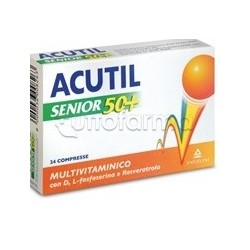 Acutil Senior 50+ Multivitaminico 24 Compresse