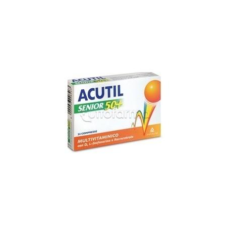Acutil Senior 50+ Multivitaminico 24 Compresse