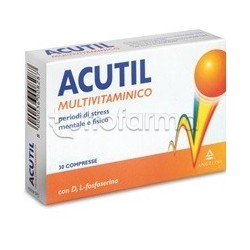Acutil Multivitaminico 30 Compresse Rivestite