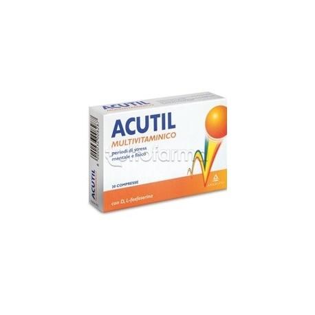Acutil Multivitaminico 30 Compresse Rivestite