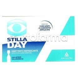 Stilladay Gocce Oculari Acido Ialuronico Umettanti 20 Flaconi da 0,25 Ml