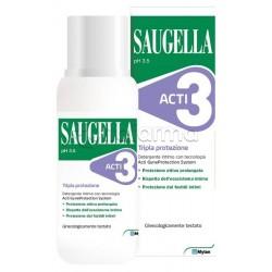 Saugella Acti3 Detergente Intimo Protettivo 250ml