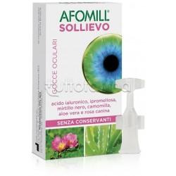 Afomill Sollievo Occhi Collirio Per Prurito E Arrossamento 10 Flaconcini