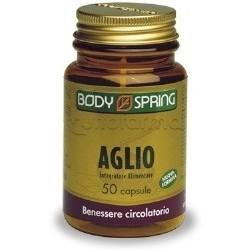 Body Spring Aglio 50 Capsule per Controllo Pressione