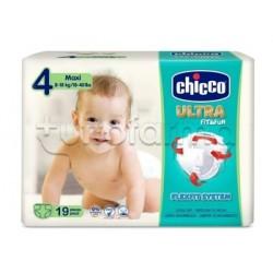 Chicco Pannolino Ultra Maxi Taglia 4 8-18Kg 19 Pezzi