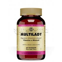 Solgar Mulltilady Integratore Vitaminico per Donna 60 Tavolette