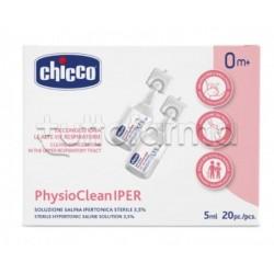 Chicco PhysioClean Soluzione Ipertonica 20 Pezzi