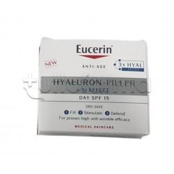 Eucerin Hyaluron Filler 3x Effect Crema Giorno Pelle Secca SPF15 50ml