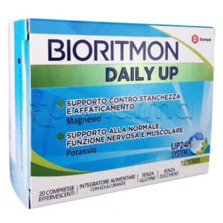 Bioritmon Daily Up Integratore per Stanchezza 20 Compresse Effervescenti