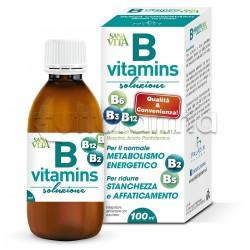 Sanavita B Vitamins Soluzione Vitaminica 100ml