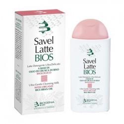 Biogena Savel Latte Bios Detergente Delicato Viso 200ml