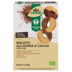 Probios Altri Cereali Biscotti all'Avena e Cacao Senza Glutine 250g