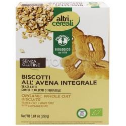Probios Altri Cereali Biscotti all'Avena Integrale Senza Glutine 250g
