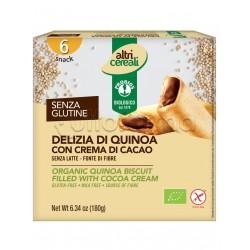 Probios Altri Cereali Delizia di Quinoa con Crema di Cacao Senza Glutine 180g
