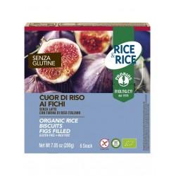 Probios Rice&Rice Cuor di Riso ai Fichi Senza Glutine 6 Snack