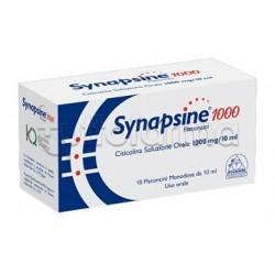 Synapsine 1000 Integratore Sistema Nervoso 10 Flaconcini