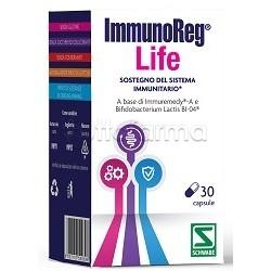 ImmunoReg Life Integratore per Difese Immunitarie 30 Capsule