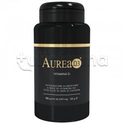 Aurea D3 Integratore con Vitamina D e Olio di Canapa 90 Perle