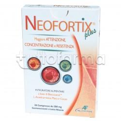 Neofortix Plus Integratore per Memoria e Concentrazione 30 Compresse